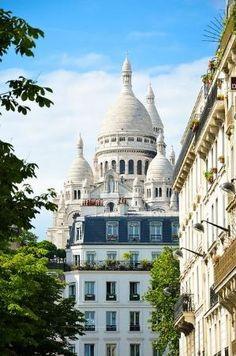 Montmartre, Paris, Sacre Coeur by doreen.m