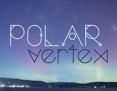 Polar Vertex is a new display typeface that inspires dreamers and free-thinkers. With a slightly nautical, celestial, and geometric design, it is quite diverse.