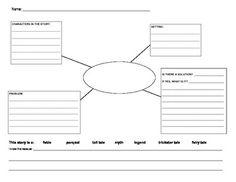 Folktales Reflection Graphic Organizer - Jameka Jones - TeachersPayTeachers.com