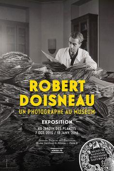 Affiche de l'exposition photo Robert Doisneau © Atelier Robert Doisneau