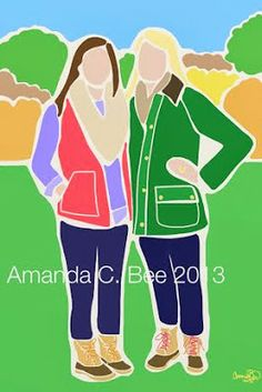 Prep In Your Step: Amanda C. Bee Custom Portrait Giveaway