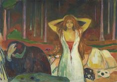 "Edvard Munch's ""Ashes"" (1925), a tale of sexual repression and frustration, is on display at the S.F. Museum of Modern Art. Photo: Courtesy Munch Museum, Oslo"