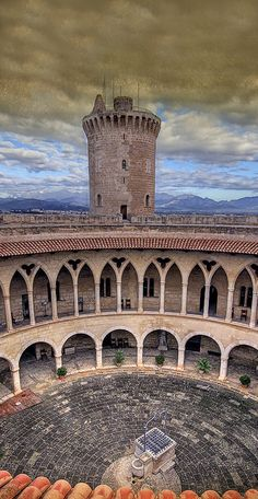 Bellver castle, Palma de Mallorca, Spain (Photo Pablo Arias López)