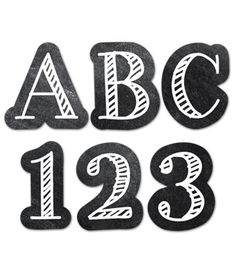 Creative Teaching Press - Chalkboard Uc Letters Stickers Paint on sale now! Buy all of your school supplies at DK Classroom Outlet and save! Teacher Supply Store, Teacher Supplies, Classroom Supplies, School Supplies, Chalkboard Decor, Chalkboard Lettering, Classroom Walls, Classroom Themes, Morning Meeting Kindergarten