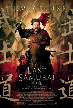 The Last Samurai (2003) - 1876, um capitão americano veio treinar as tropas do imperador japonês sendo feito prisioneiro por um samurai rebelde.