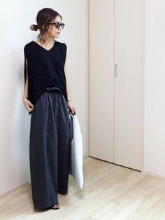 Style urban woman donna karan 15 New ideas 60 Fashion, Japan Fashion, Minimal Fashion, Womens Fashion, Fashion Design, Fashion Trends, Japanese Minimalist Fashion, Japanese Street Fashion, Street Chic