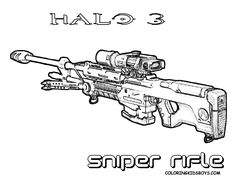 classic m16 rifle gun coloring page to print http www