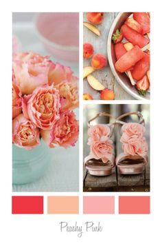 My Party design: Colour Palettes - Peachy Pink