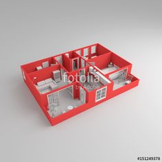 Interior Rendering, 3 D, Stock Photos, Home, Ad Home, Homes, Haus, Houses