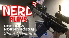 Nerd³ Plays... Hot Dogs, Horseshoes & Hand Grenades - Range Anxiety