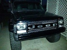 Change your grill to set your XJ apart from the pack. Made from 14 gauge steel and ship in raw form ready for paint or powder coat. Available for all years. Jeep Xj Mods, Jeep Suv, Jeep Truck, Jeep Cherokee Xj Accessories, 2 Door Jeep, Jeep Cherokee Sport, Cherokee Nation, Jeep Baby, Tire Pressure Gauge