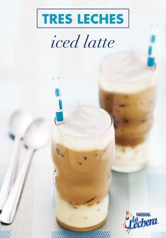 With La Lechera Sweetened Condensed Milk mixed into this smooth drink, you'll be known for your morning creations, and for good reason — this recipe is simply delicious! When you're looking for a energizing treat to enjoy this spring, try out a refreshing glass of this Tres Leches Iced Latte.