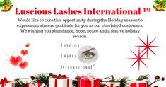 Would like to take this opportunity during the Holiday season to express our sincere gratitude for you as our cherished customers. We wishing you abundance, hope, peace and a festive holiday season. Holiday Festival, Abundance, Gratitude, Opportunity, Wish, Festive, Lashes, This Is Us, Peace