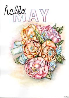 hello, May Spring Months, Days And Months, Months In A Year, Spring Time, Mothers Day Flowers, May Flowers, Seasons Of The Year, Days Of The Year, Birthstones By Month