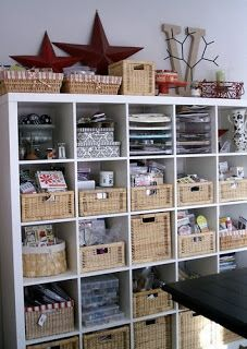 Craft Room Inspiration - lots of photos