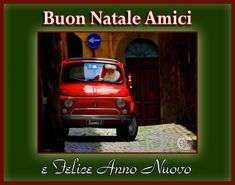 Christmas Wishes & a Happy New Year Amici