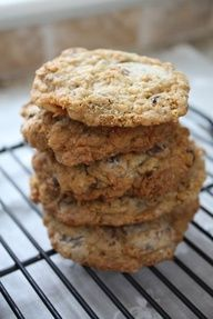 Chunky Lola Cookies (1) From:  Blue Eyed Baker, please visit