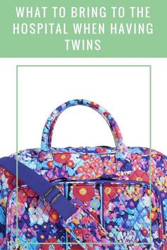 Hospital bag for twin moms what you need (and don't need) to pack