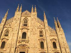 Duomo bright sky