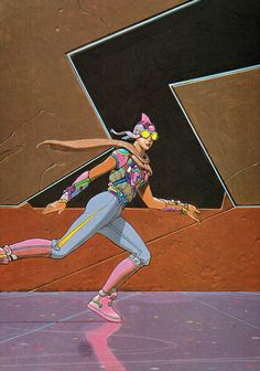 #Moebius #comics #illustration Jean Giraud