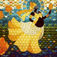Espelho de Oxum - 2007. Imagem - Menote Cordeiro. Link; https://www.facebook.com/menote.cordeiro/?fref=ts