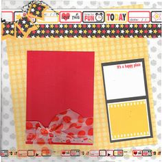 Scrapbooking layout kit 2 page Disney kit - Magical Memories #scrapbooking #disney