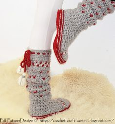 Sophie and Me: PROTECTIVE CROCHET SOLES FOR SOCKS AND SLIPPERS