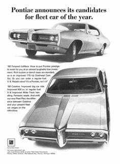 1968 PONTIAC FLEET AD