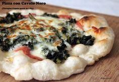 Pizza Sottile alla Romana con Cavolo Nero |