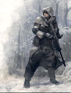 ArtStation - Winter Soldier, CHOI junmyung