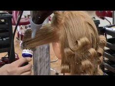 YouTube Curling Iron Hairstyles, Bun Hairstyles, Hair Cutting Techniques, How To Curl Your Hair, Blow Dry, Youtube, Hair Cuts, Hair Beauty, Cutting Hair