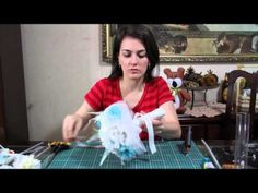DIY - Bouquet de broches e tecidos - 4ª parte - YouTube