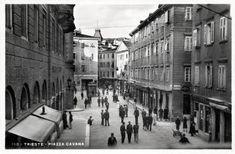 Trieste Piazza Cavana - 1934