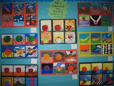 life on (and off) O street: middle school art projects {part three}.