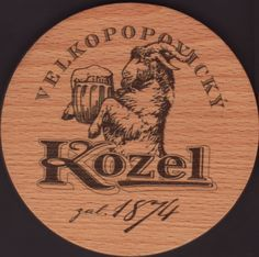 Beer coaster velke-popovice-120 Beer Mats, Beer Coasters, Brewery, Drink, Collection, Beverage, Drinking