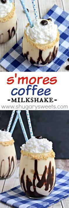 S'mores Coffee Milkshake