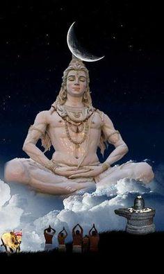 Shiva Meditation, Shiva Yoga, Mahakal Shiva, Shiva Art, Krishna, Lord Shiva Statue, Lord Shiva Pics, Lord Shiva Hd Images, Lord Shiva Family