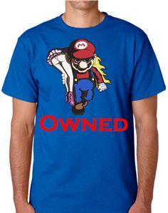 $179.00 Playera Mario Bross & Peach OWNED - Comprar en Jinx