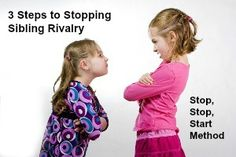 Overcome sibling rivalry with this 3 step method . . .