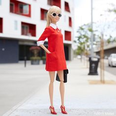 Ready to take on the week ahead!  #barbie #barbiestyle