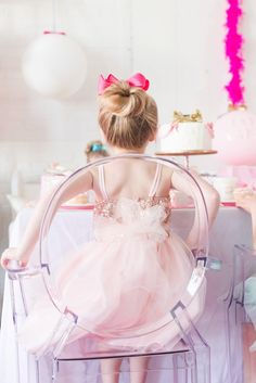 Adorable Little Girl's Birthday Party