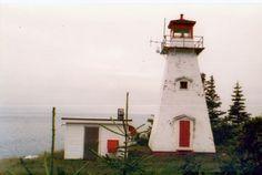 Cape Sharp Light, Nova Scotia, Canada