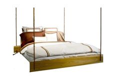 Pendulous Queen Hanging Bed Frame