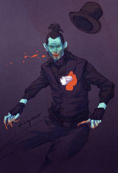 Vamp Stab, Luay Garwan on ArtStation at https://www.artstation.com/artwork/vamp-stab