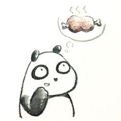 【一日一パンダ】 妄想は才能であると美輪明宏さんも言っていたよ。 しっかり妄想しよう。 #pandaJP