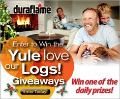 Enter to Win Starbucks, Barnes & Noble, & iTunes Gift Cards (Daily Winners) + Print Your Coupon to Save on Duraflame Firelogs