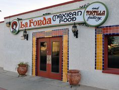 La Fonda & Tortilla Factory in Yuma, Arizona, has some of the very best Sonoran Mexican food in the Southwest. Not the best part of town, but well worth the risk of getting your car stolen!  Yes, I will go anywhere under any circumstances for a great meal.