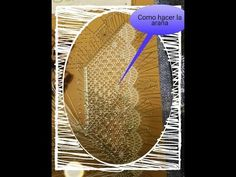 Inicio pañuelo: Parte 2 araña o milano - YouTube Lace Making, Bobbin Lace, Projects To Try, Inspiration, Crocheting, Knitted Slippers, Point Lace, Hand Fans, Curves