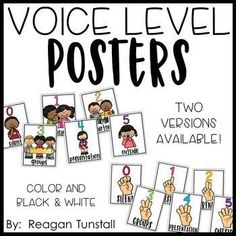 FREE Voice Level Charts! Two different styles available. Each style comes in color or black and white posters to help you teach your class about voice levels throughout the school day. Both small and large sizes available. A great FREEBIE tool for classroom management! To learn more visit www.tunstallsteachingtidbits.com