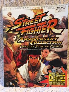 Street Fighter Anniversary Collection Official Strategy Guide ( Brady Games)    Video Games & Consoles, Strategy Guides & Cheats   eBay!
